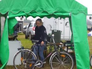 RZV Fußgönnheim Mit Fahrrad ist man klar im Vorteil