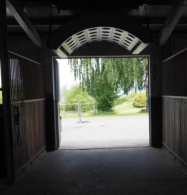 RZV Hauptstall - Eingang und Solarium