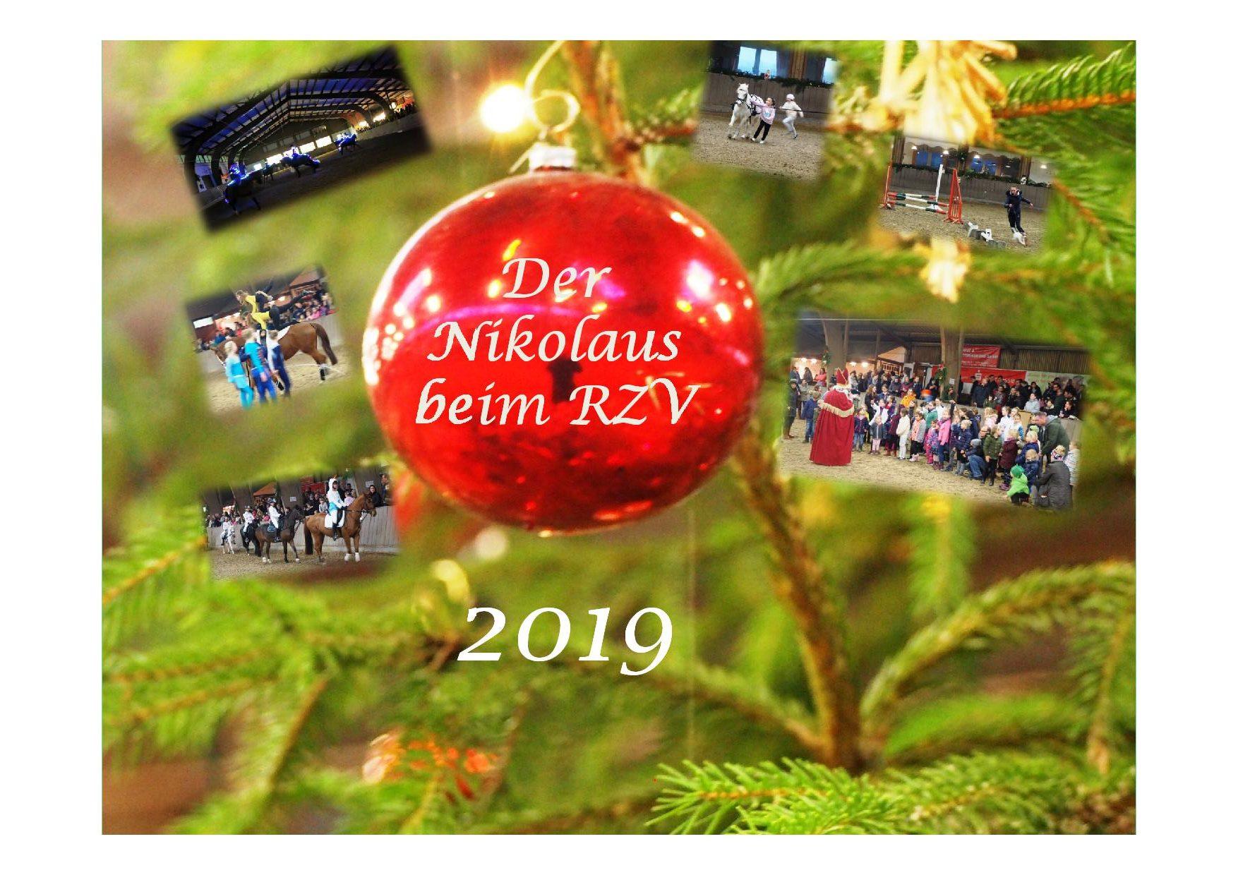 Der Nikolaus beim RZV!